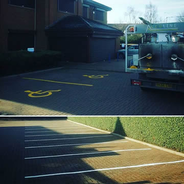 Car Park Painting Company in Wakefield