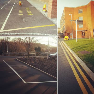 Road Marking & Doctor Bays In London