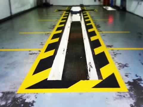 Internal and External Warehouse Line Marking Company