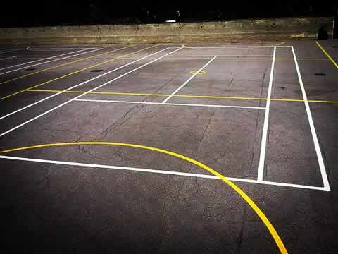Sports Court Line Marking Contractor