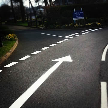 Hospital Line Marking In Sutton Coldfield