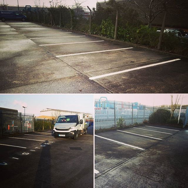 Our Works & Line Marking Photos