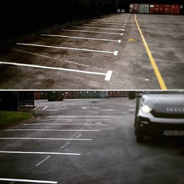 Line Marking Company in Nottingham