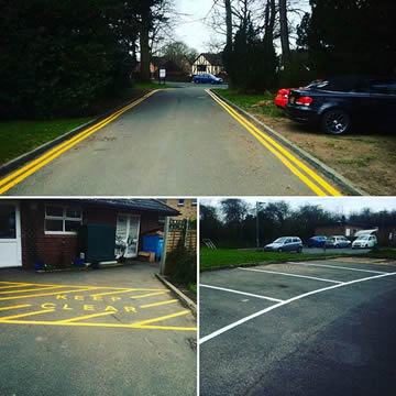 Road Marking Company in Braintree Essex