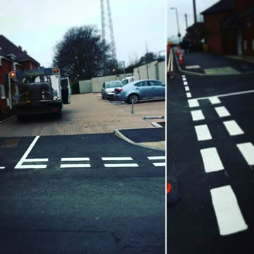Road Marking in Oxford, Junctions & Roads