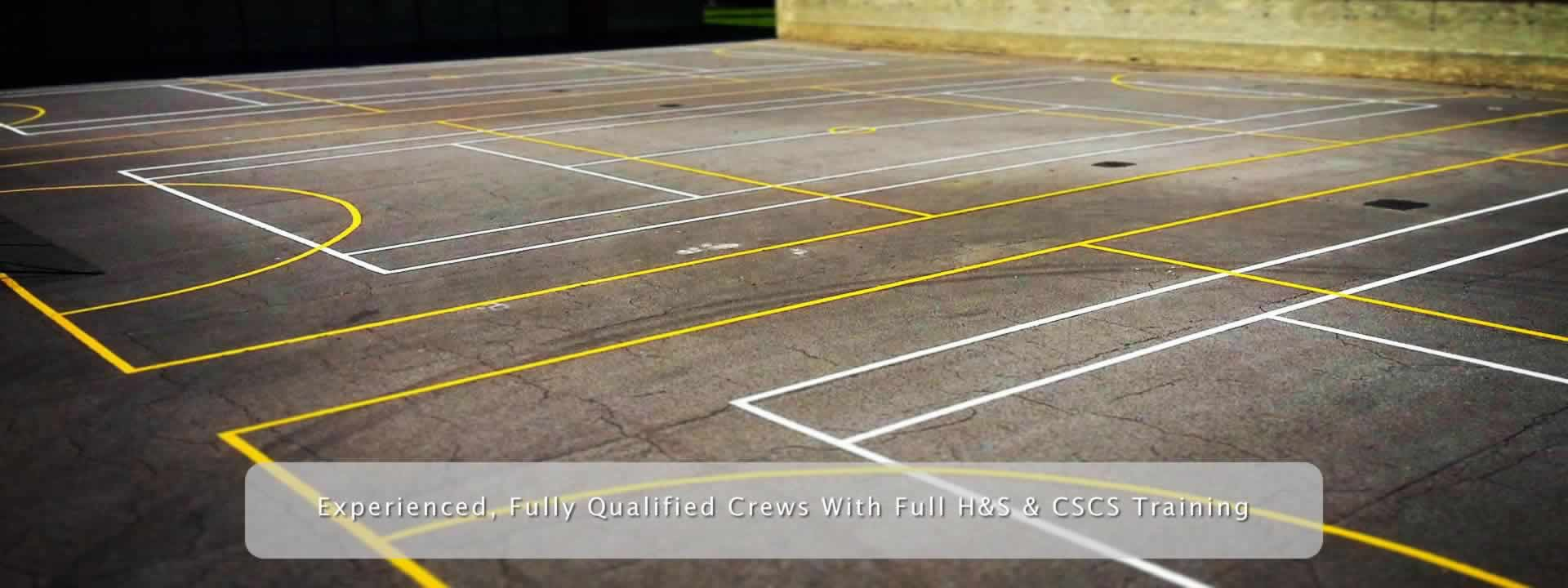 Sports Court Line Painting Services