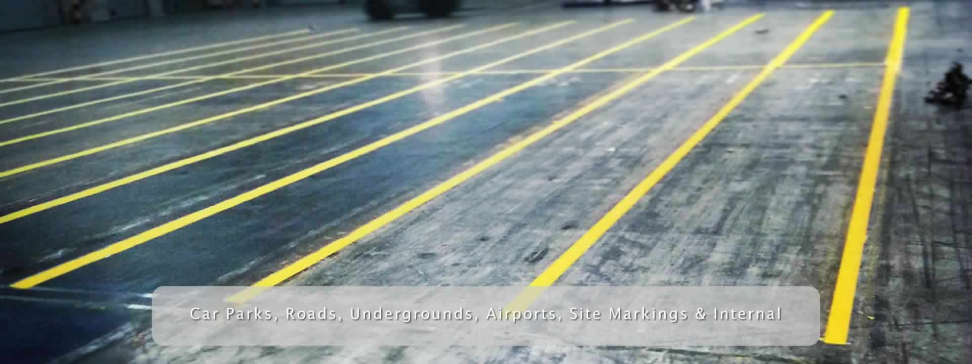 Internal Line Marking And White Lining Services