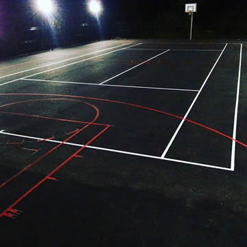 Sports Court Marking Company in Coventry